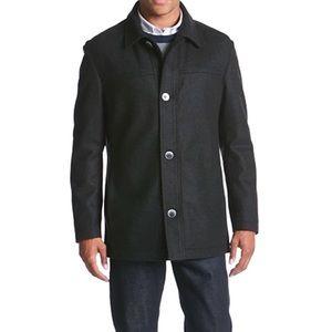 Boss Hugo Boss Black Chester Wool Cashmere Coat 44